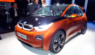 BMW i3 Coupe at LA Motor Show