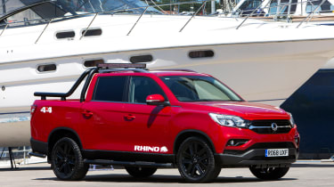SsangYong Musso Rhino - front
