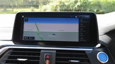 BMW iX3 - sat-nav