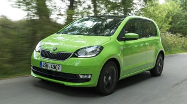 Skoda Citigo - front tracking