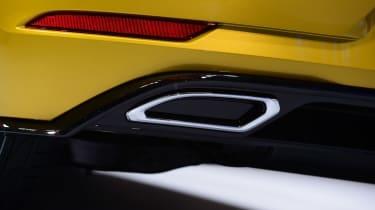 New 2017 Volkswagen Golf reveal - exhaust detail