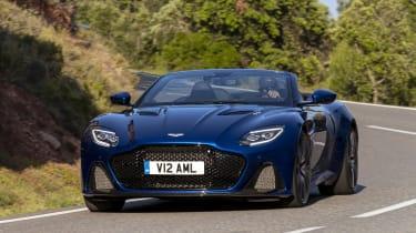Aston Martin DBS Superleggera Volante - front cornering