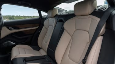 Porsche Taycan Turbo S - rear seats
