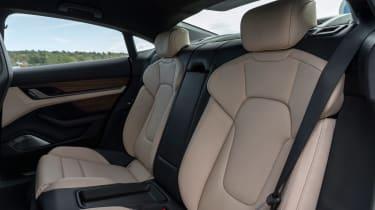 Porsche Taycan Turbo S - rear seats