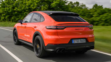Porsche Cayenne Turbo Coupe - rear
