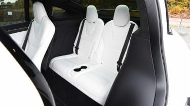 Tesla Model X - rear seats