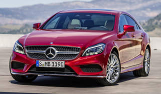 Mercedes Benz CLS-Class coupe 2015 front