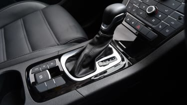 MG GS vs rivals - MG GS gear selector
