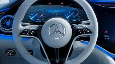 Mercedes EQS - steering wheel