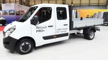 Renault Master cab side