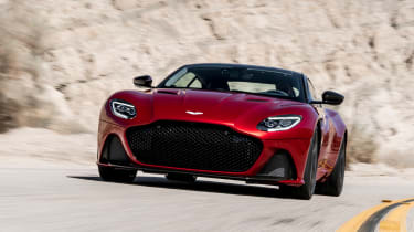 Aston Martin DBS Superleggera - front tracking