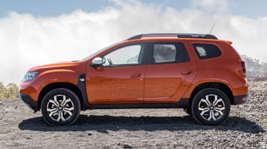 Dacia Duster facelift - side static