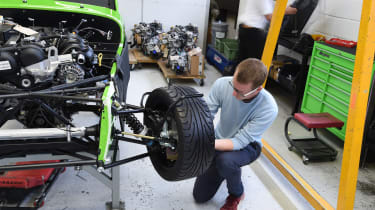 Long-term test review: Caterham 270S fitting wheel
