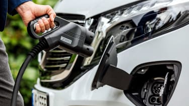Mercedes EQV - charging port