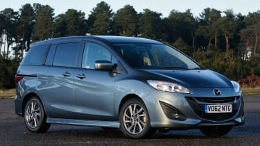 The Mazda 5 MPV is a stylish alternative to the likes of Ford's C-Max.