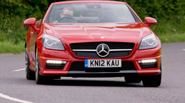 Mercedes SLK 55 AMG front