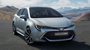 Toyota Corolla Touring Sports estate –front