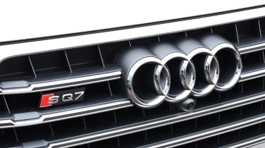 Audi SQ7 long term test - first report grille