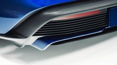 Porsche Taycan - rear detail