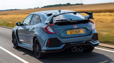 Honda Civic Type R - rear action