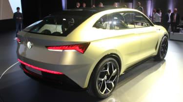 Skoda Vision E Concept - show rear