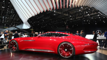 Maybach 6 Concept - Paris rear three quarter
