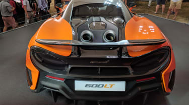 McLaren 600LT top exhausts