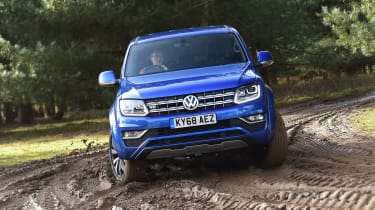 vw amarok off-road action