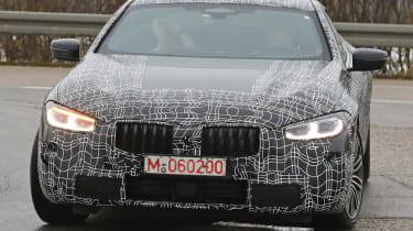 BMW 8 Series - spy shot front grille