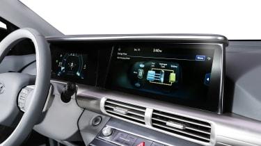 Hyundai NEXO fuel cell SUV - screen