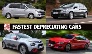 Fastest depreciating cars 2020 - header