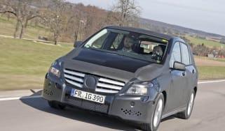 Mercedes B-Class prototype front