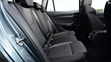 Skoda Octavia Estate e-TEC - rear seats