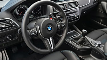 BMW M2 Competition - steering wheel