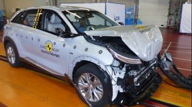 Hyundai Nexo crash test