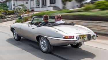 Jaguar E-Type Zero - rear action