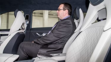 Skoda VisionS concept - John McIlroy rear seats