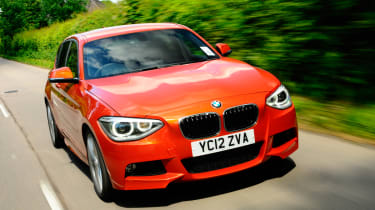 BMW 125d M Sport front tracking