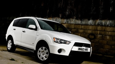 The 4Work Outlander is a car-converted van with four-wheel drive.