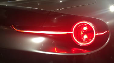 Mazda Vision Coupe concept - reveal rear lights