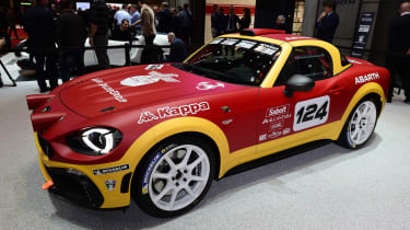 Abarth 124 Rally - front