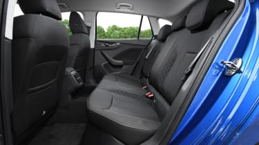 Skoda Scala rear legroom