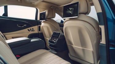 Bentley Flying Spur - rear interior