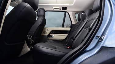 Range Rover P400 - rear seats