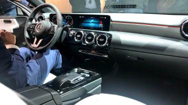 New Mercedes A-Class - reveal cabin