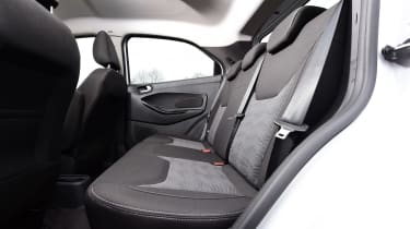 Ford Ka+ White Edition - rear seats