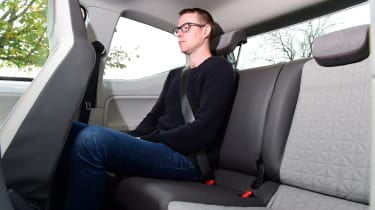 Volkswagen up! - rear seats