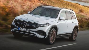 Mercedes EQB - front action