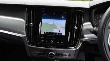 Volvo S90 long term test first report - sat-nav