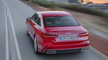 Audi A6 - rear action